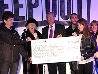 CLC Group raise £110,000 to End Youth Homelessness