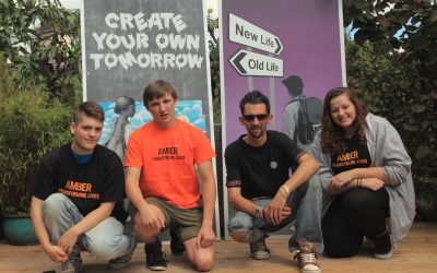 Create your own tomorrow – Street Artist helps young homeless