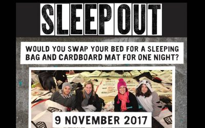 Your chance to help End Youth Homelessness! Sleepout 2017