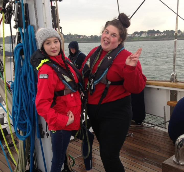 Amber residents setting sail with the Ocean Youth Trust