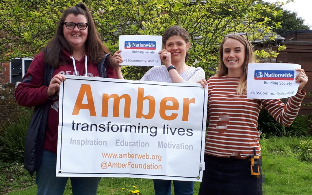Amber celebrates support from Nationwide Building Society