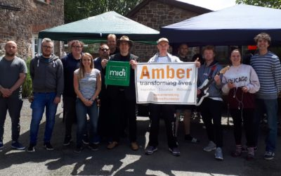 Amber celebrates Youth Music Funding