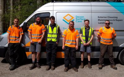 Devon Surface Care treats youth homelessness centre to a deep clean!